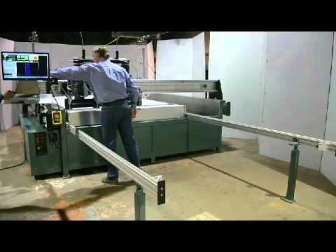 4 Head Dual Shuttle Waterjet by Perfect Score Technologies