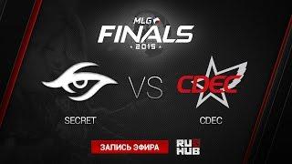 CDEC vs Secret, game 1