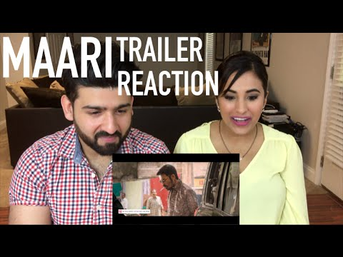 Maari Trailer Reaction | Dhanush, Kajal Agarwal | By RajDeep