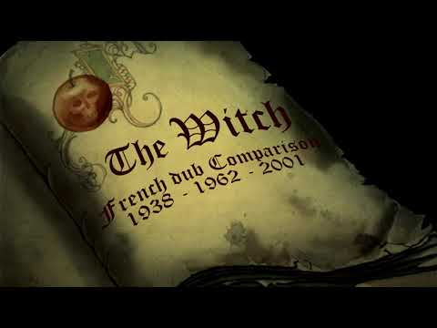 Snow White And The Seven Dwarfs ~ The Witch: French Dub Comparison (1938/1962/2001)