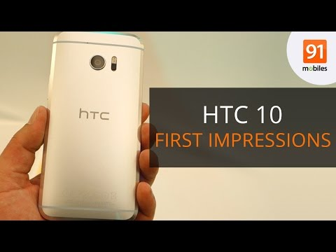 HTC 10: First Impressions | First Look | Event - YouTube