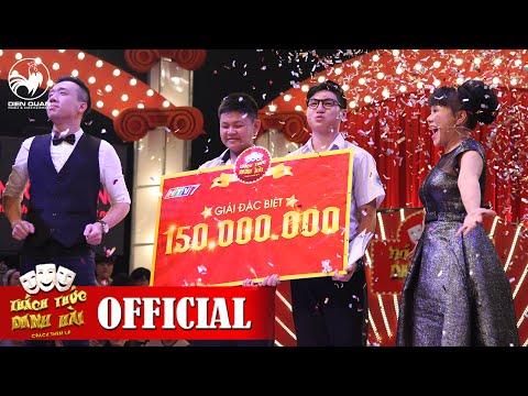 Thách Thức Danh Hài mùa 2 | GALA 3 FULL HD: Trấn Thành, Việt Hương òa khóc trao 150 triệu - Thời lượng: 51:48.