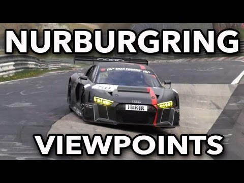 Nurburgring Viewpoints + How To Get To The Karussell!
