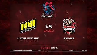 Natus Vincere против Team Empire, Вторая карта, Квалификация на Dota Summit 8