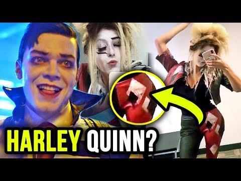 Ecco's FULL Harley Quinn Look Revealed for Gotham Season 5!