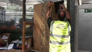 #500 David Austin Roses 2011 - Verpackung von Containerrosen