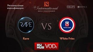 Rave vs WFG, game 1