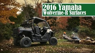 10. 2016 Yamaha Wolverine-R Surfaces, will arrive in stores in 2015, April