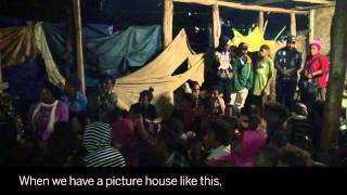 Papua New Guinea's 'haus piksa' create spaces where communities can come together to watch films and talk about HIV and ...