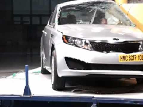 Kia Optima 2011 Kia Optima CRASH TEST