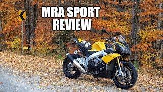 10. 2011-2014 Aprilia Tuono V4R - MRA Sport Windscreen Review
