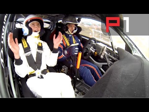 on board hyundai i20 wrc al rally del portogallo