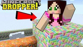 Minecraft: FALLING INTO SANTA'S CHIMNEY!! - Santa's Hat - Mini-Game