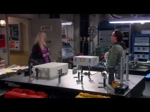 Big bang theory-penny on leonard lab