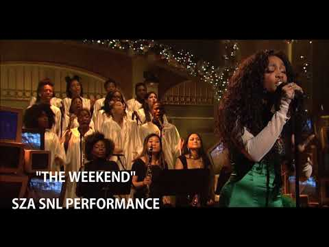 """""""The Weekend"""" by SZA - SNL Performance Audio"""