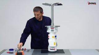 Boční míchadlo INOXPA LR - Jednoduchá výměna mechanické ucpávky.