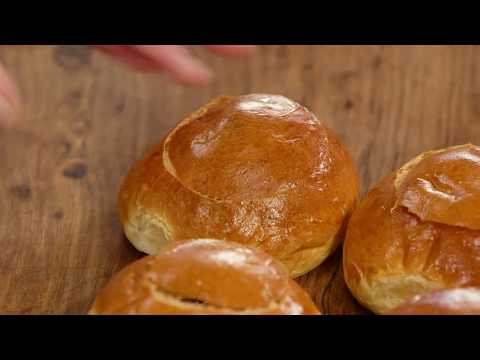 Cheesy Ham Brioche Buns | Everyday Gourmet S7 E76