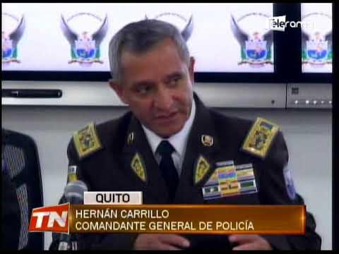 Policía desarticuló organización que apoya al grupo armado Oliver Sinisterra