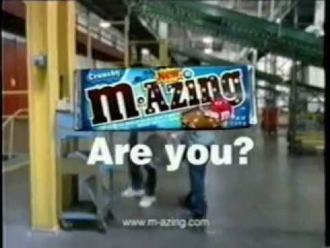 M&M's M-Azing candy bar commercial (2004)