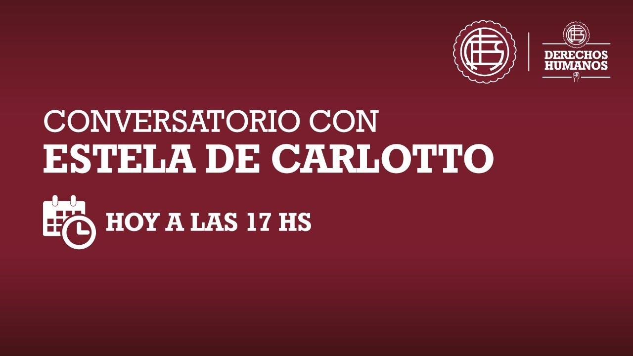 Conversatorio con Estela de Carlotto
