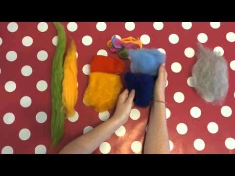 FilzBasics: Verschiedene Wolltypen