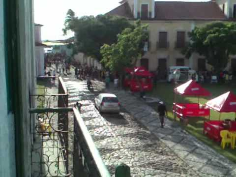 Festa do Divino 2012 Corrida do Boi em Alcântara MA