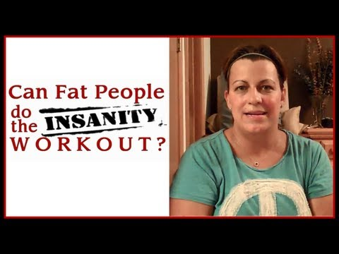 #4 CAN FAT PEOPLE DO THE INSANITY WORKOUT – RESTARTING MONTH TWO