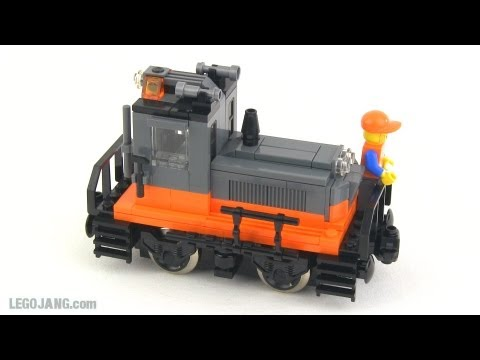 LEGO train MOC: Diesel switcher
