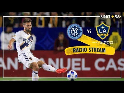 Video: LA Galaxy at NYCFC | Radio Livestream