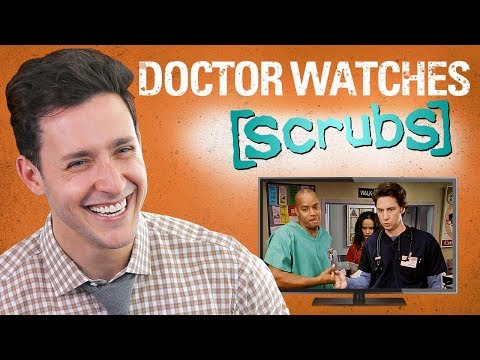 Real Doctor Reacts to SCRUBS | Medical Drama Review | Doctor Mike (видео)