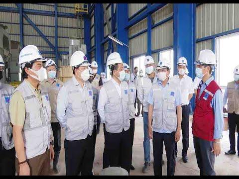 Kiểm tra tiến độ dự án Nhiệt điện Thái Bình 2