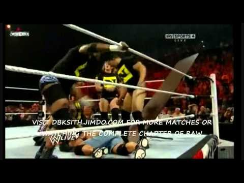 John Cena vs Randy Orton [Table Match] RAW 9/13/10 HD