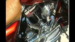 10. 2009 Harley Davidson Street Glide Music and Engine On