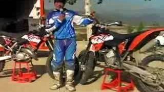 2. 2008 KTM 125SX &144SX Motocross Test - MotoUSA