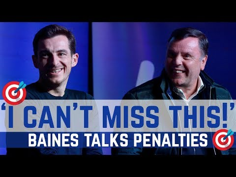 Video: CENTRE STAGE: BAINES TALKS PENALTIES!