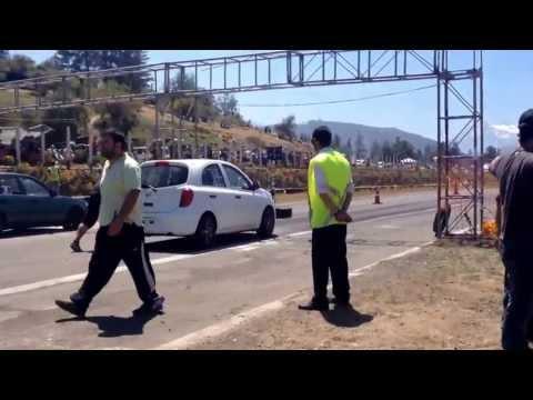 Nissan March K13 v/s Toyota Corolla AE101 5° DragFest ChileDragRacing @ Las Vizcachas