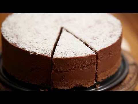 Chocolate Cheesecake | No Bake Cake Recipe | Divine Taste With Anushruti