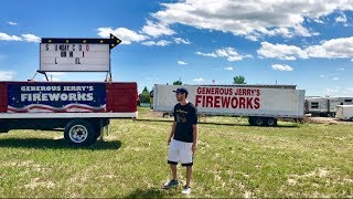 Video Firework Shopping Trip 2018 - Generous Jerry's Fireworks MP3, 3GP, MP4, WEBM, AVI, FLV Maret 2019