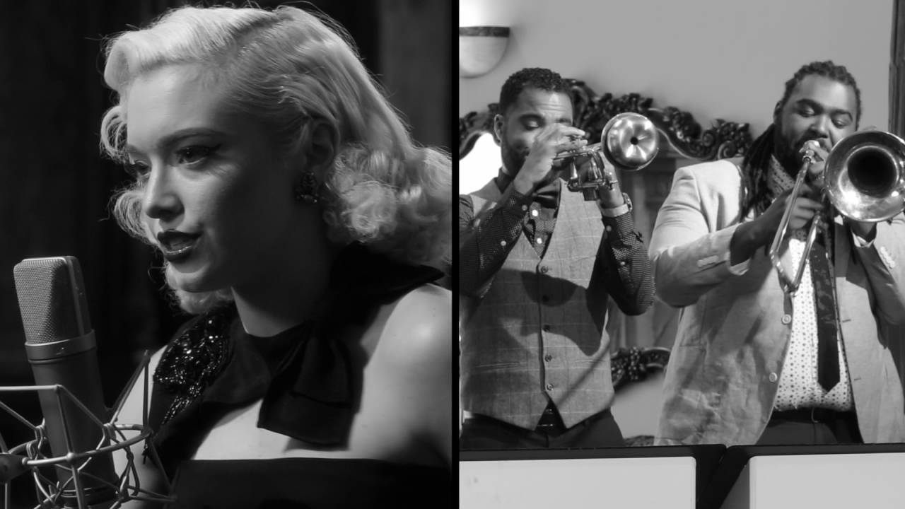 "Heart Of Glass – Vintage '40s ""Old Hollywood"" Style Blondie Cover ft. Addie Hamilton"