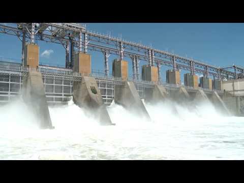 Președintele țării a vizitat barajul hidrocentralei de la Dubăsari