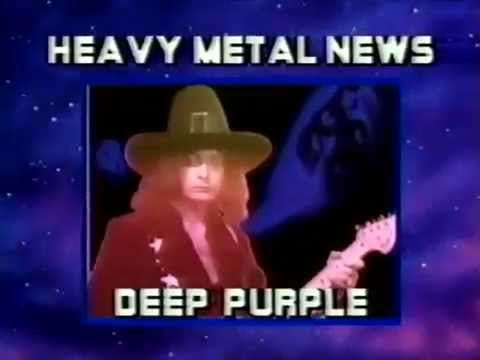 The Deep Purple Reunion Announcement from October 1984