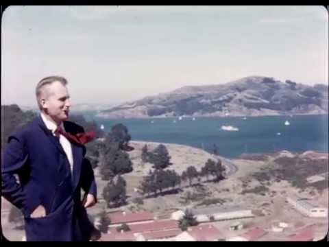 Color Footage of San Francisco in 1958