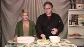 """http://www.singingcook.com Dave and Stephanie are at it again, this week they are making Baked Fried Chicken, """"Singing Cook..."""