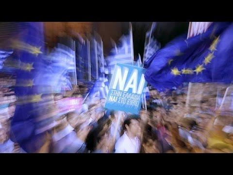 Ελλάδα: Η συγκέντρωση του «ΝΑΙ» στην Αθήνα
