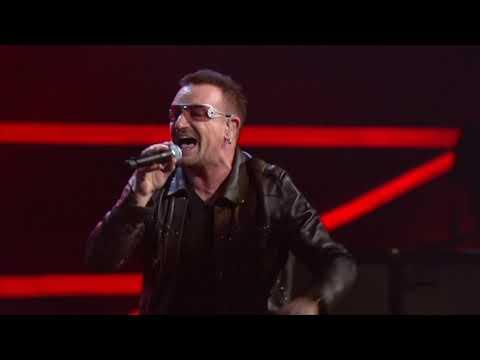 """U2 perform """"Vertigo"""" at the 25th Anniversary Concert"""