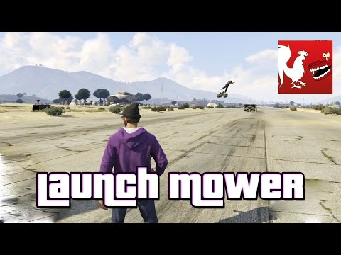 Launch - In this week's Things To Do in GTA V, AH launches some lawn mowers. Minus the lawn mowers. RT Store: http://bit.ly/1vduQ60 Rooster Teeth: http://roosterteeth.com/ Achievement Hunter: http://achi...