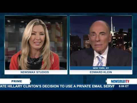 Newsmax Prime | Edward Klein on Hillary Clinton's email nightmare continuing to haunt her1