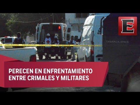 Mueren seis civiles en Reynosa, Tamaulipas, por fuego cruzado
