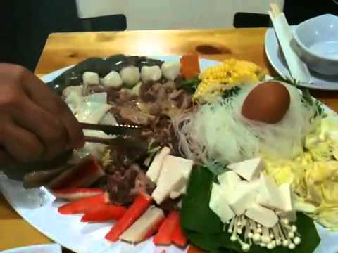 Thai BBQ with Steamboat