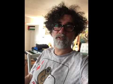 Videomessaggio – LELLO ANALFINO & TINTURIA – Musica Intorno